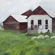 Old Farm Buildings Art Print