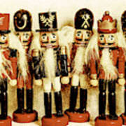 Old Nutcracker Brigade Art Print