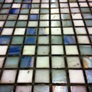 Old Tiles Background Art Print