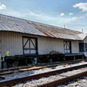 Old Train Depot In Gray, Georgia 2 Art Print