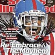 Ole Miss Re-embrace The Mayhem Sports Illustrated Cover Art Print