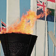 Olympic Torch Art Print