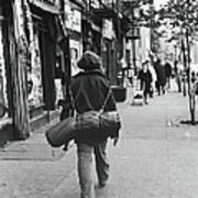 On The Streets Of The East Village, 1967 Art Print