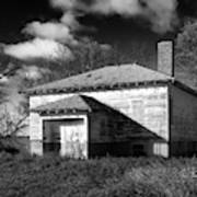 One Room Schoolhouse 2 Art Print