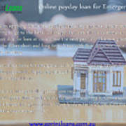 Online Payday Loans Art Print