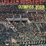 Opening Ceremony, 1960 Summer Olympics Sports Illustrated Cover Art Print