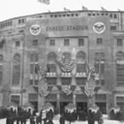 Opening Day For Yankee Stadium In New Art Print
