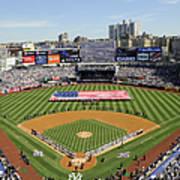 Opening Day Yankee Stadium. New York Art Print