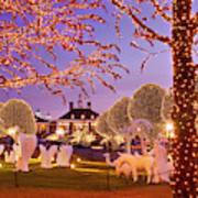Opryland Hotel Christmas Art Print
