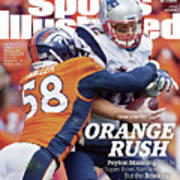 Orange Crush Peyton Manning Will Be The Super Bowl Sports Illustrated Cover Art Print