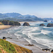 Oregon Coastline Art Print
