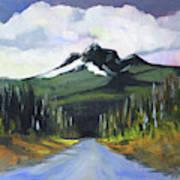 Oregon Road Trip Art Print