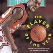 Oregon State Gary Payton Sports Illustrated Cover Art Print
