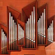 Organ Of Bilbao Jauregia Euskalduna Art Print