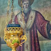 Orthodox Icon Art Print