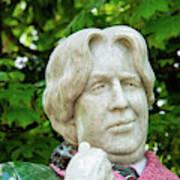 Oscar Wilde Statue One  Art Print