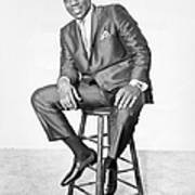 Otis Redding Portrait Art Print