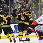 Ottawa Senators V Boston Bruins Art Print
