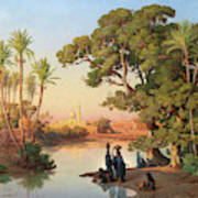 Outskirts Of Cairo Art Print
