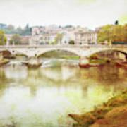 Over The Tiber Art Print