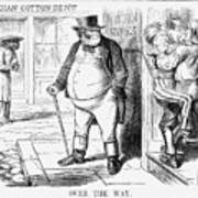 Over The Way, 1861 Art Print