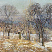 Overlooking The Valley  Art Print
