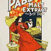 Pabst Malt Extract, The Best Tonic Art Print