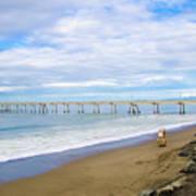 Pacifica Municipal Pier - California Art Print