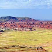 Painted Desert Panorama Art Print