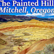 Painted Hills 01 Art Print