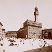 Palazzo Vecchio In Florence Art Print
