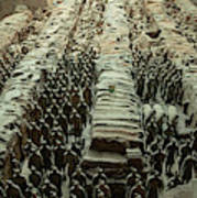 Panorama Of Pit 1, Terra Cotta Warriors Art Print