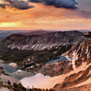Panoramic Cdt Sunrise Art Print