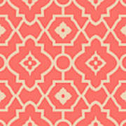 Pantone Pattern Art Print