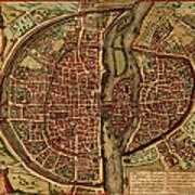 Paris Antique View Art Print