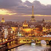 Paris, France - Art Print
