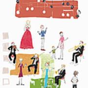 Party Image Art Print