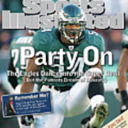 Party On The Eagles Dance Into The Super Bowl But The Sports Illustrated Cover Art Print