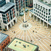 Paternoster Square, London. It Is An Art Print