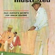 Paul Runyans Secrets For Senior Golfers Sports Illustrated Cover Art Print