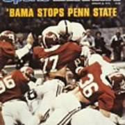 Penn State Mike Guman, 1979 Sugar Bowl Sports Illustrated Cover Art Print