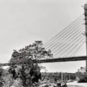 Penobscot Narrows Bridge And Observatory Art Print