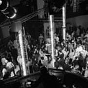 People Dancing At Studio 54 Art Print