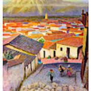 Peru Art Print