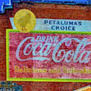 Petalima's Drink Coca-cola Art Print