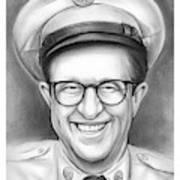 Phil Silvers As Sgt Bilko Art Print
