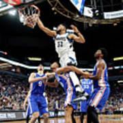 Philadelphia 76ers V Minnesota Art Print