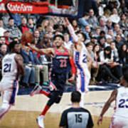 Philadelphia 76ers V Washington Wizards Art Print