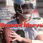 Philadelphia Eagles Qb Jim Mcmahon Sports Illustrated Cover Art Print