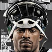 Philadelphia Eagles Qb Michael Vick Sports Illustrated Cover Art Print